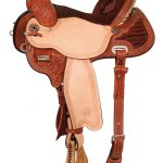 13inch to 17inch Circle Y Kelly Kaminski Studded Croc Flex2 Barrel Racer