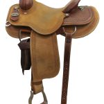 14.5inch Circle Y Dan Byrd Super Shooter 2721 Mounted Shooting Saddle