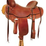 Circle Y Outfitter Ranch Saddle 1125