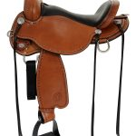 14inch to 17inch Circle Y Salt River Flex2 Trail Saddle 1667