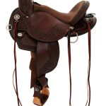 14inch to 17inch Circle Y Walnut Grove Flex2 Trail Saddle 1157