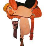 Circle Y Little Cowpoke Youth Barrel Racer Saddle 3002