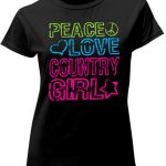 Women's Country Girl Shirt – Peace_ Love