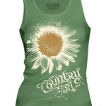 Women's Country Girl Shirt – Tank Top Sunflower