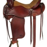 15inch 16inch Courts Saddlery Trail Saddle 8716VB