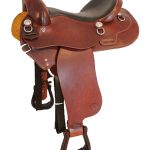 15inch to 17inch Courts Saddlery Trail Saddle 97001B