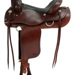 15inch to 17inch Courts Saddlery Trail Saddle 9788RB
