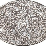 Nocona Ladies Crystals – Belt Buckle 37540