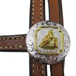 Circle Y Floral Browband Headstall 0205-08