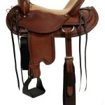 15inch to 17inch Dakota Draft Horse Trail Saddle 214