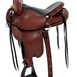 16inch 17inch Dakota Gaited Flex Trail Saddle 211