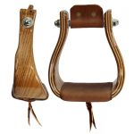 Don Orrell Stirrups_ Flat Bottom