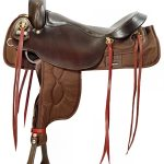 16inch 17.5inch Big Horn Draft cordura Saddle 296