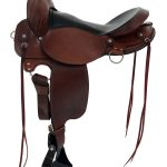 All NEW 16inch 17inch Fabtron Gaited Flex Trail Leather Saddle 7764-s 7766-s