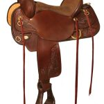 15inch to 17inch Circle Y Carlsbad Flex-Lite Trail Saddle 2376