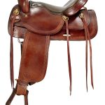 16inch Big Horn Flex Trail Saddle 1655