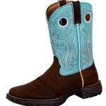Flirt with Durango Womens Brown Powder n Lace Boot rd3471
