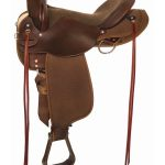 16inch 17inch High Horse by Circle Y El Campo Cordura Gaited Trail 6970