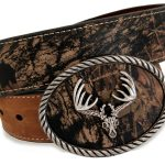 Nocona Hunting Outdoor Mossy Oak Belt