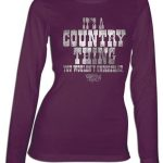 Women's Country Girl Shirt – Long Sleave – Country Thing