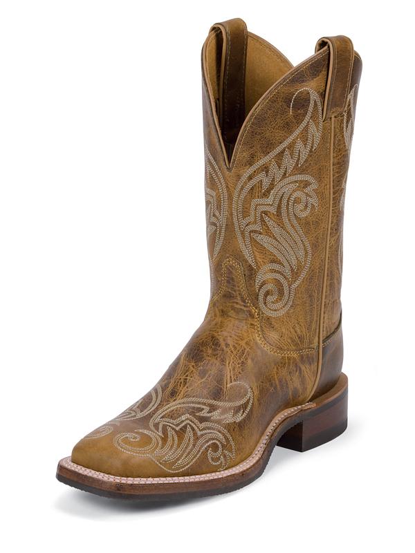justin-boots-bent-rail-tan-damiana
