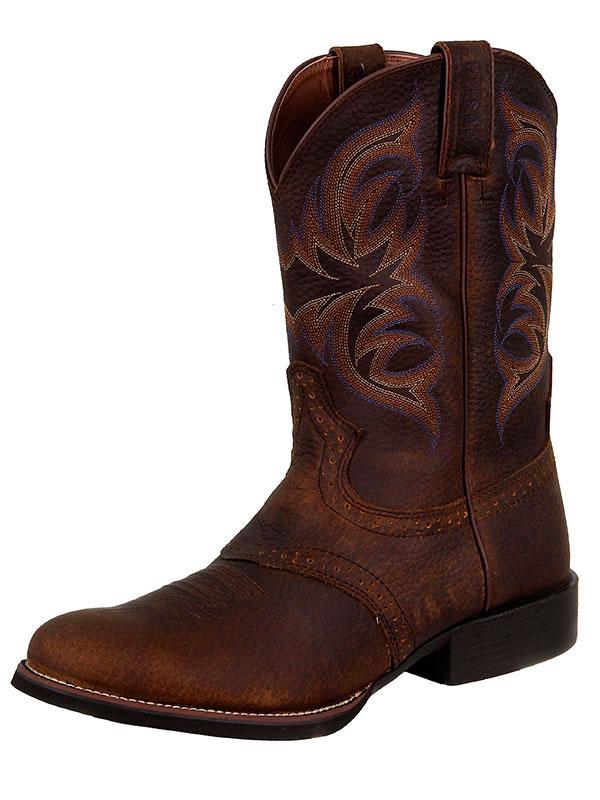 justin-boots-men-stampede-brown-rawhide