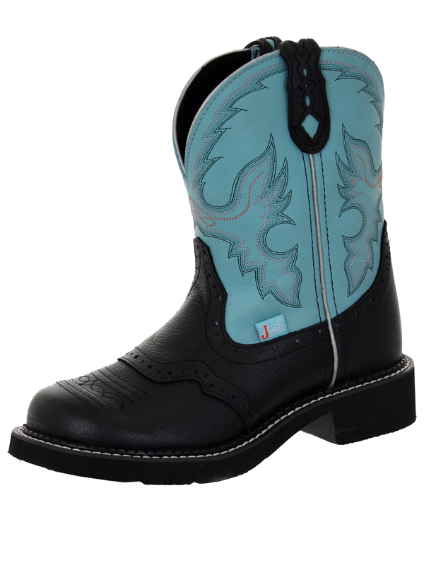 justin-womens-gypsy-black-deer-cow-boots