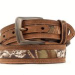 Kids Nocona Double Stitched Mossy Oak Belt N44192222