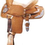 12inch to 14inch Alamo Basket/Oakleaf Tooled Youth Show Saddle 1102 1103 110