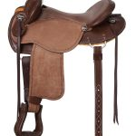 15inch to 17inch King Series Brisbane Roughout Trail Saddle 172