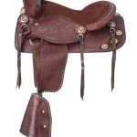 12inch King Series Jr. Plainsman II Pony Saddle 8500