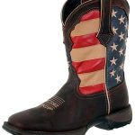 Lady Rebel by Durango Womens Patriotic Pull-On Western Boot RD4414