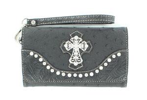 leon-clutch-ostrich-cross-black-wallet