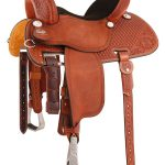 Martin Saddlery Sherry Cervi Crown C Barrel Racer 97MDS