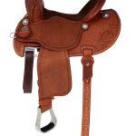 13.5inch to 14.5inch Martin Saddlery FX3 Barrel Racing Saddle mr67TW