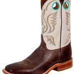 Justin Mens Chocolate American Boots BR313