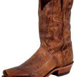 Justin Mens Tan Road Boots BR733