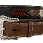 Mens Top Hand Western Belt – Black