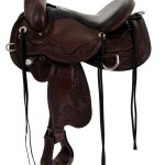 14inch to 17inch Circle Y Julie Goodnight Monarch Flex2 Trail Saddle 1752