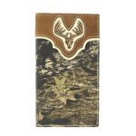 Nocona Camouflage Rodeo Wallet with Deer Skull N54318222