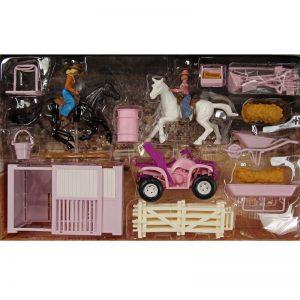 pink-4-wheeler-stable-set