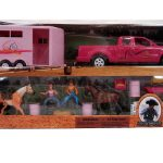 Bigtime Rodeo Toy Barrel Racing Set