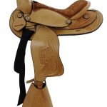 12inch Dakota Light Oil Pony Saddle 950slo