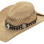 Ladies Raffia Sun Hat – with Cross Band