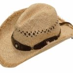 Double S Ladies Raffia Hat – Scalloped with cyrstals