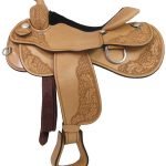 15inch 16inch 17inch Rocking R Reining Saddle 3459_ Free Shipping