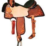13inch to 15.5inch Reinsman Charmayne James Lily & Snowflake Barrel Saddle