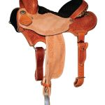 13inch to 15.5inch Reinsman Charmayne James Snowflake & Floral Barrel Saddle
