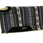Reinsman Cutback Built Up Square Saddle Pad_ High Withers 32inchL x 32inchD