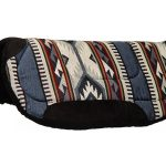 Big Horn Round Skirt Saddle Pad 28inchL x 28inchD 7910